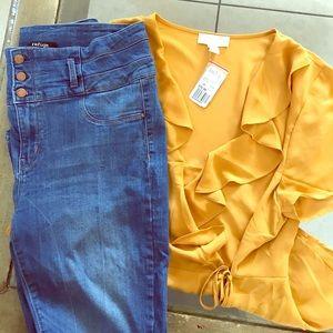 Plus size 3x dressy blouse